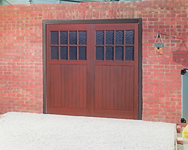 Brick garages garage doors repairs clearview for Sutherland garage